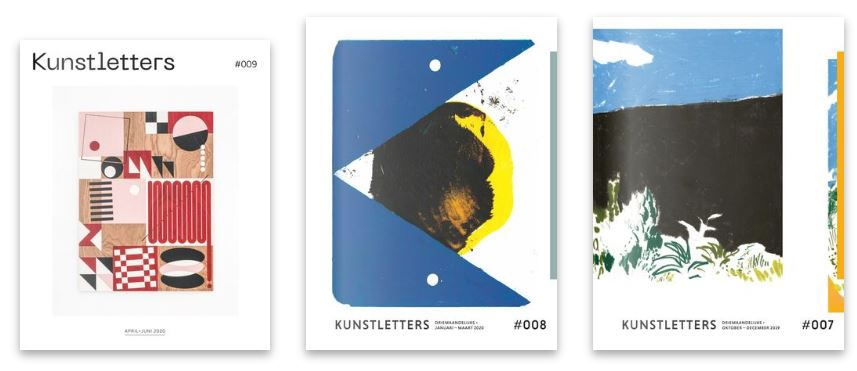 Covers Kunstletters